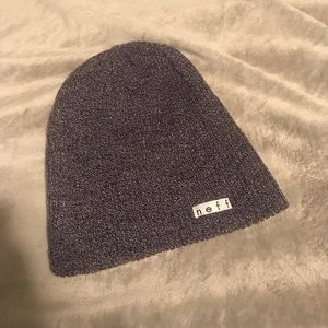 Neff Beanie heathered purple and gray